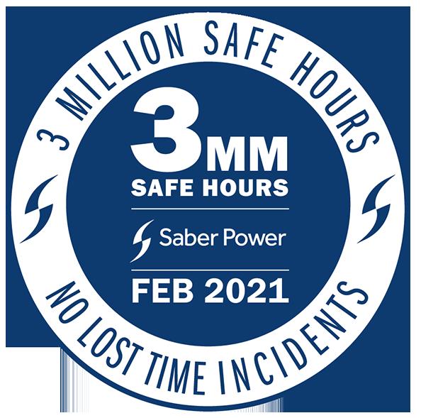 2 million safe hours logo